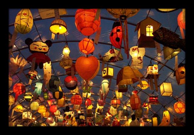 Festival Lampion Jinju Namgang