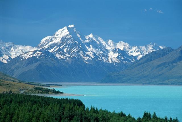 Twizel ke Mount Cook - Selandia Baru